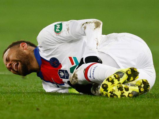 Football-Neymar injury