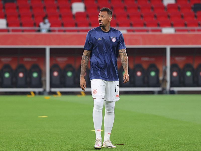Jerome Boateng at the Fifa Club World Cup.