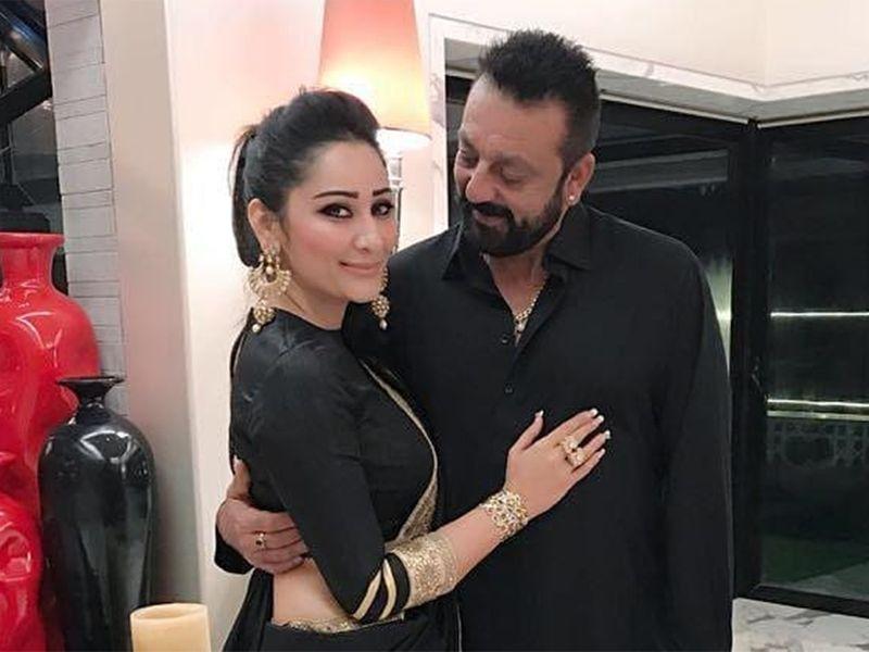 Maanayata and Sanjay Dutt