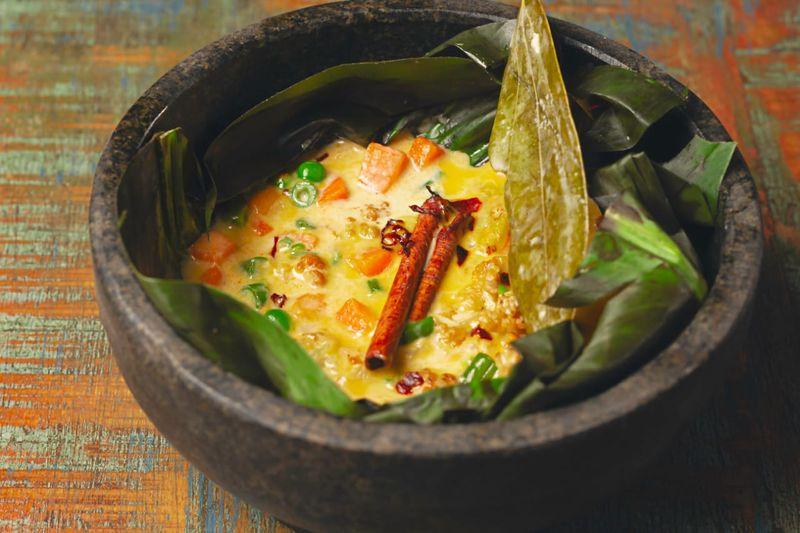 Malabar coconut stew