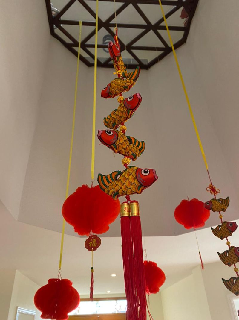 NAT Decorations inside a Chinese residents house-1613050846305