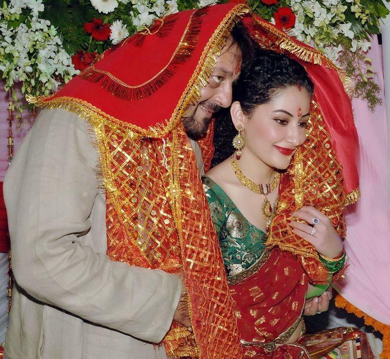 Sanjay and Maanayata Dutt