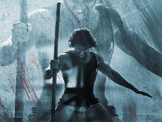 Vijay Deverakonda in the Liger poster