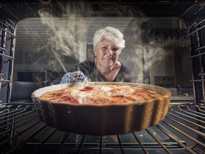 apple pie, oven, bake