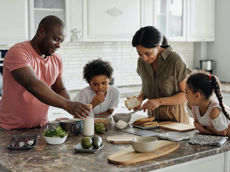 family, kitchen
