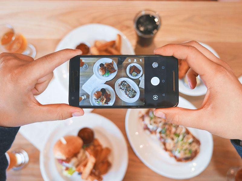 photo, video, food