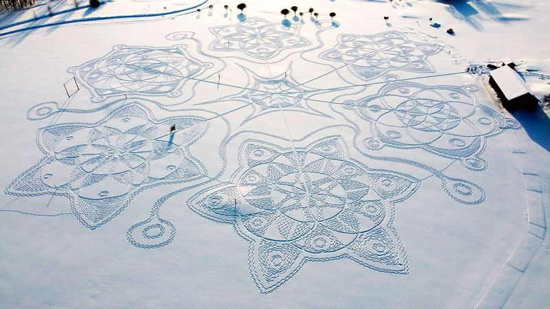 snow art gallery