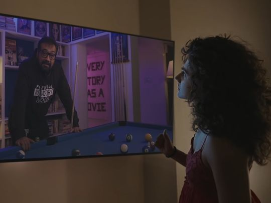 Anurag Kashyap and Taapsee Pannu in the teaser for 'Dobaaraa'