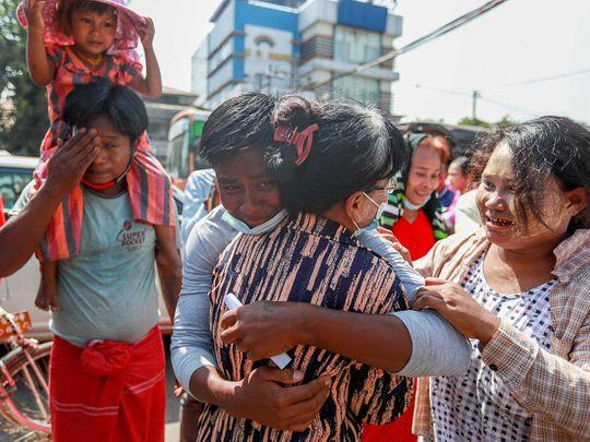 Myanmar prisoner