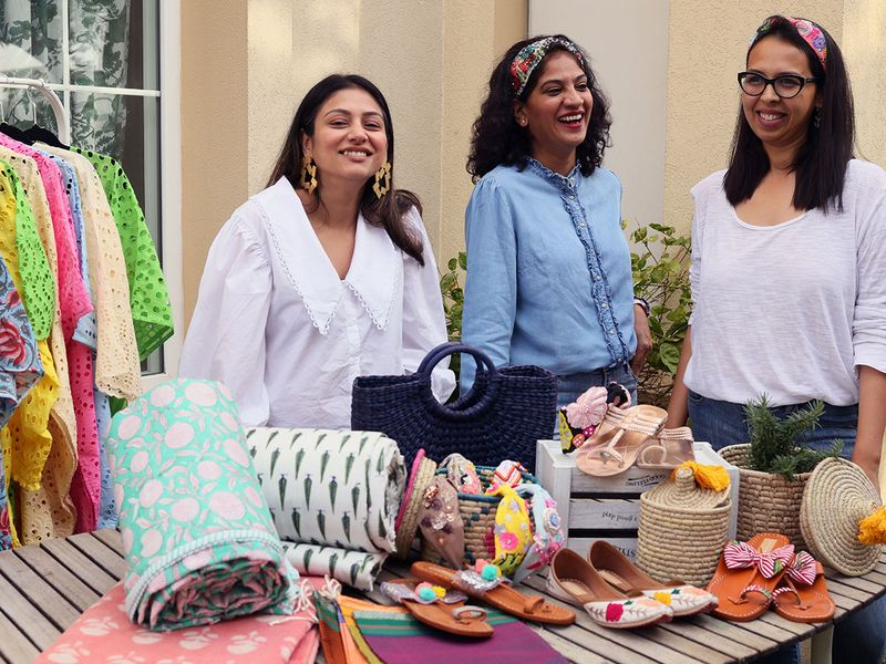 Shama Dadarkar, Rupal Panjani and Sai Talwalkar