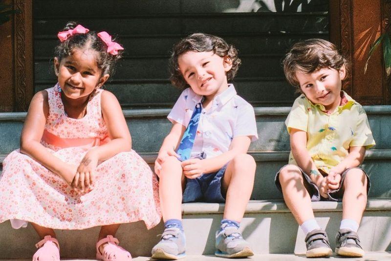 Sunny Leone's children Nisha, Asher and Noah