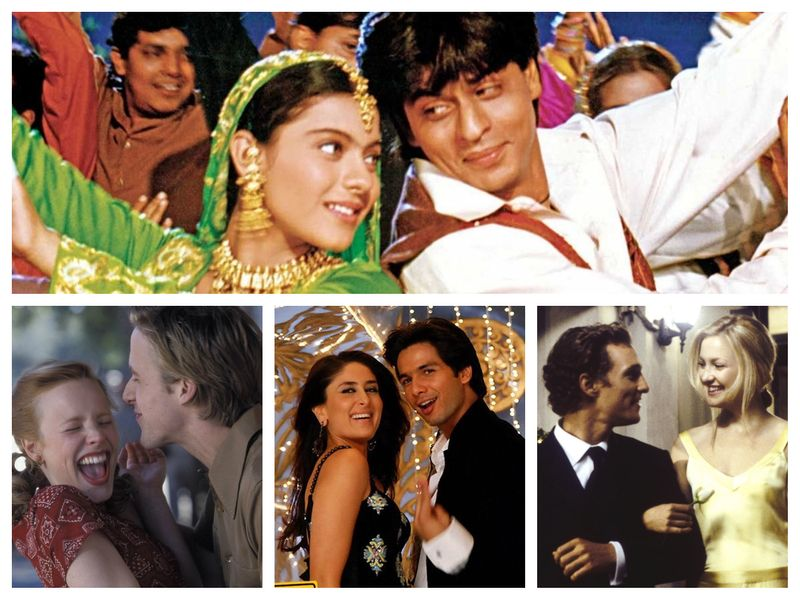 Dilwale Dulhania Le Jayenge, The Notebook, Jab We Met, How to Lose a Guy in 10 Days