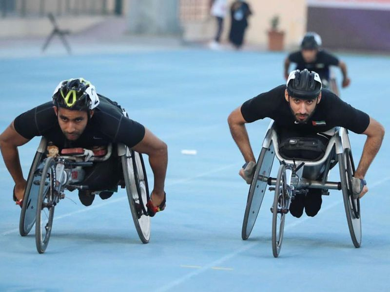 The UAE's middle-distance Paralympic champion Mohammad Al Hammadi continued his good run at the Dubai Club for People of Determination grounds picking up his second silver at the 12th Fazza - Dubai 2021 World Para Athletics Grand Prix