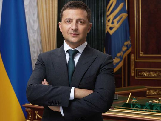 Ukrainian President says his country can be UAE's food security guarantor