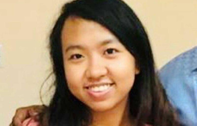 Angeline Cartiaga Mena, a supermarket saleslady