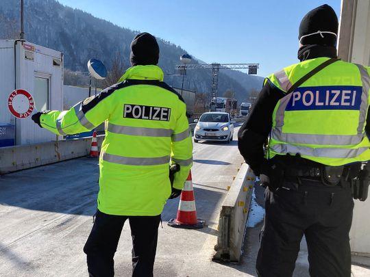 German border police