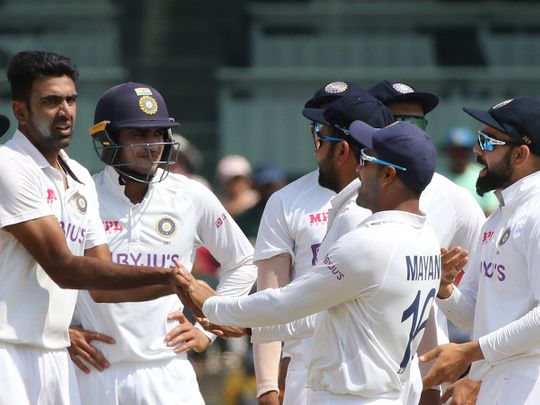 India took four England wickets before lunch in the second Test
