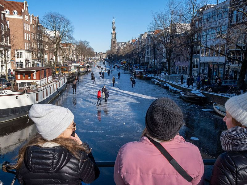 Netherlands skating gallery