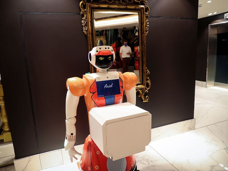 Automated attendants gallery