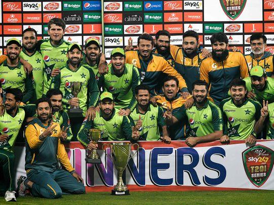 Pakistan's players