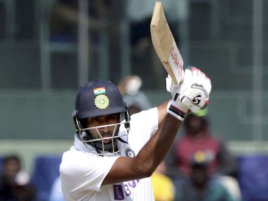 Ravichandran Aswhin smacked a century against England