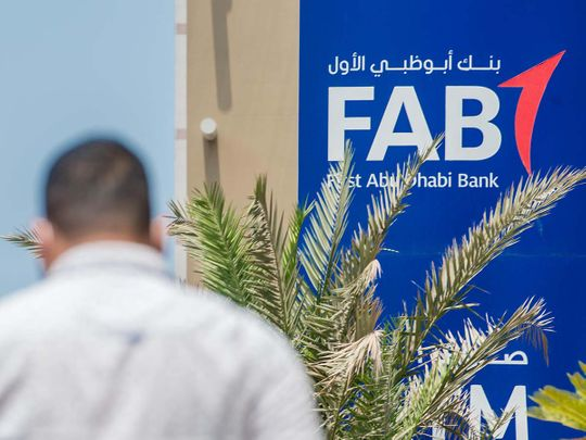 STOCK FIRST ABU DHABI BANK  FAB
