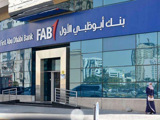STOCK FIRST ABU DHABI BANK  FAB
