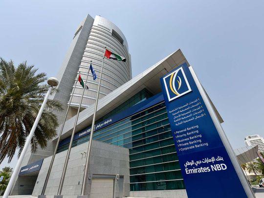 Stock Emirates NBD bank