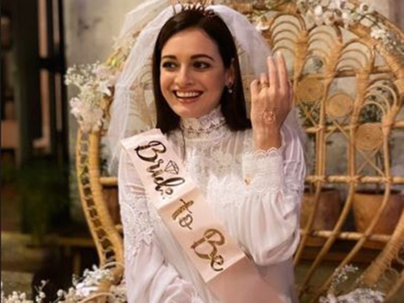 Dia Mirza bridal shower