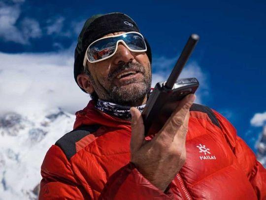 Pakistan mountaineer Ali Sadpara K2