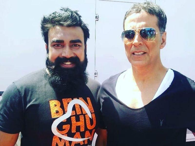 Sandeep Nahar and Akshay Kumar