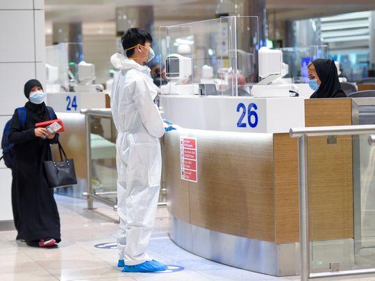 Stock Dubai airport 2021