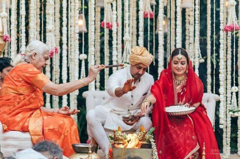Vaibhav Rekhi and Dia Mirza