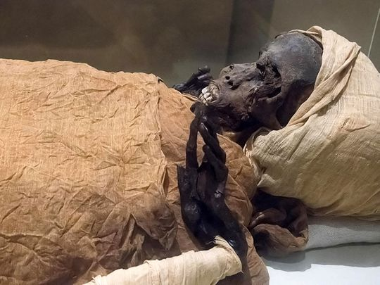 Egyptian King Seqenenre-Taa-II