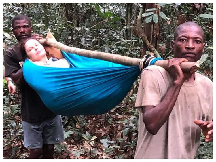 Maybe you would like to learn more about one of these? Hollywood Star Ashley Judd Shares Dramatic Images Of Her Rescue From The Congo Jungle Hollywood Gulf News