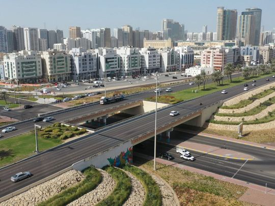 Stock Abu Dhabi city