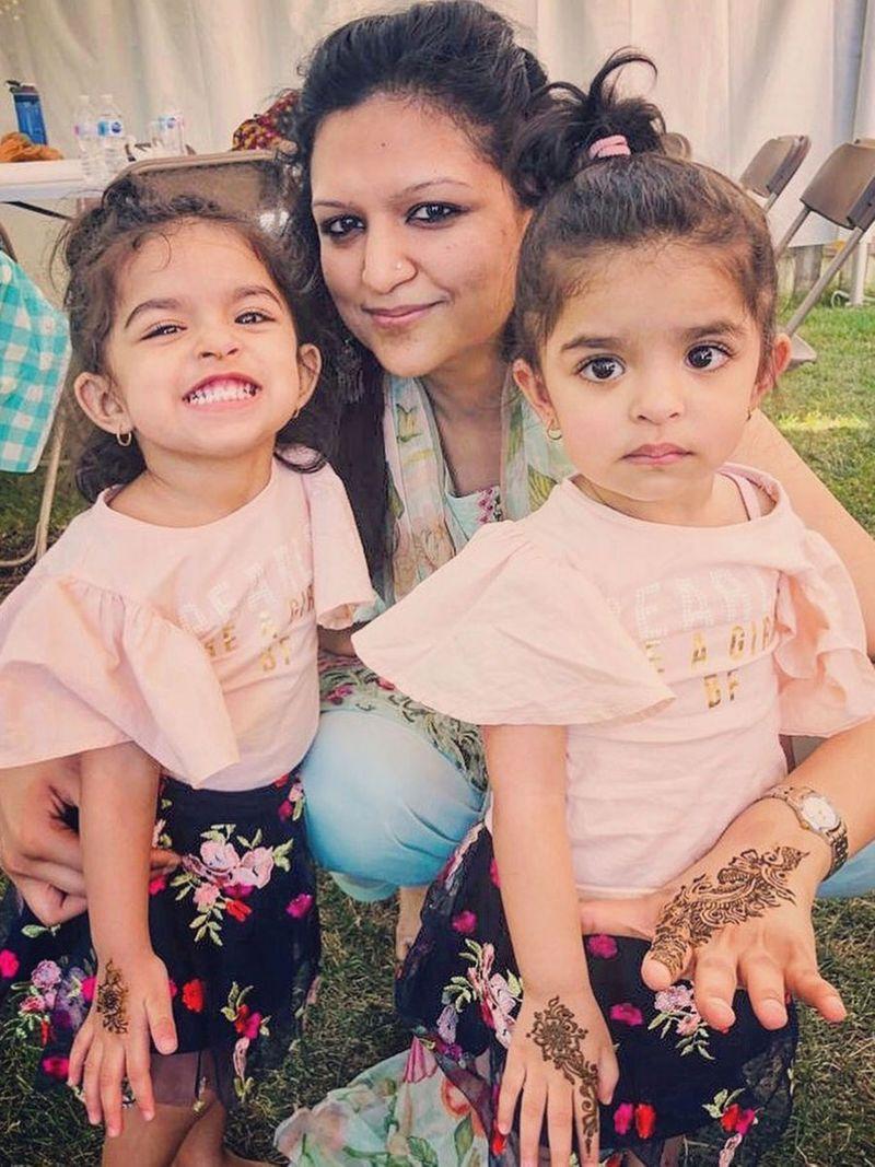 Tanisha Gupta, twins