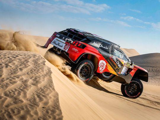 Baja Rally - Khalid Al Qasimi