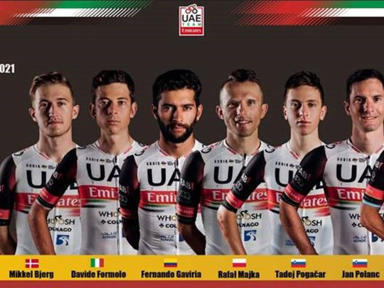 Cycling - Team UAE Emirates
