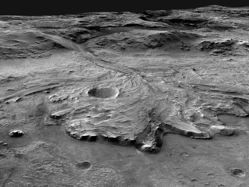 Jezero crater Mars