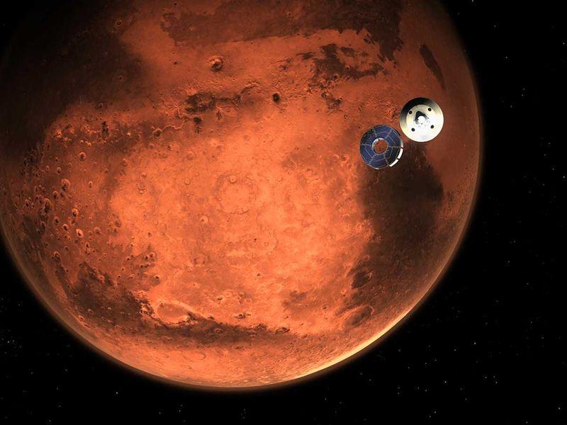 Nasa Perseverance rover mars