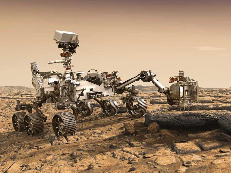 Nasa rover perseverance