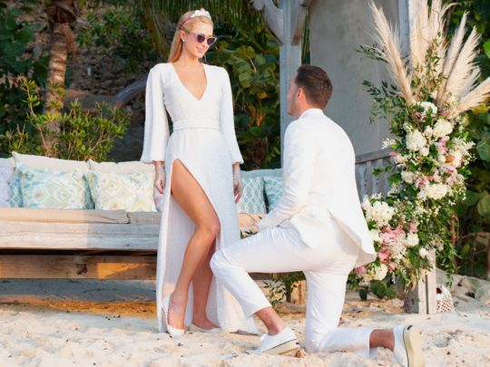 Paris Hilton gets engaged to Carter Reum