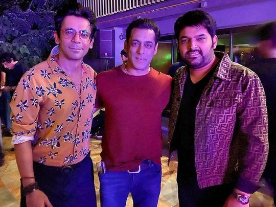 Sunil Grover, Salman Khan and Kapil Sharma