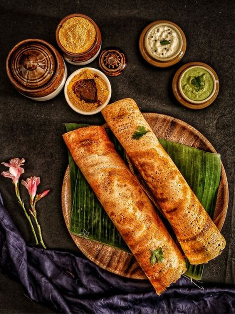 Dosa, south indian breakfast