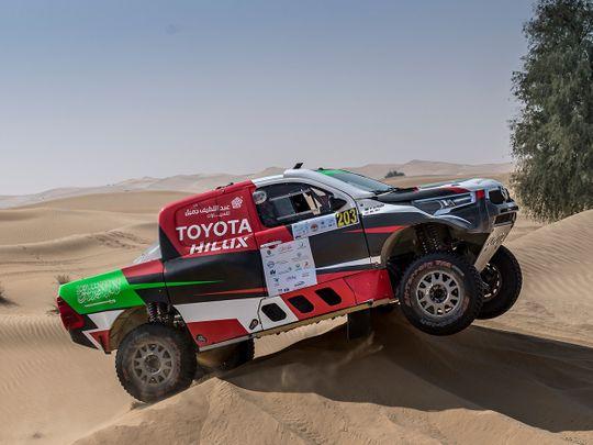 Baja Rally - Al Rajhi