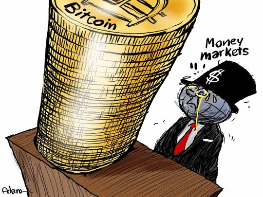 Cartoon: Bitcoin jump tops other assets