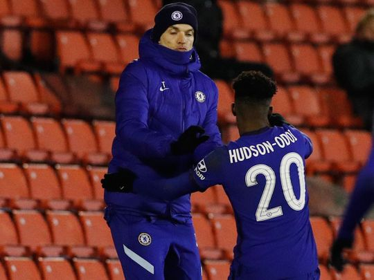 Chelsea boss hauled off substitute Callum Hudson-Odoi against Southampton