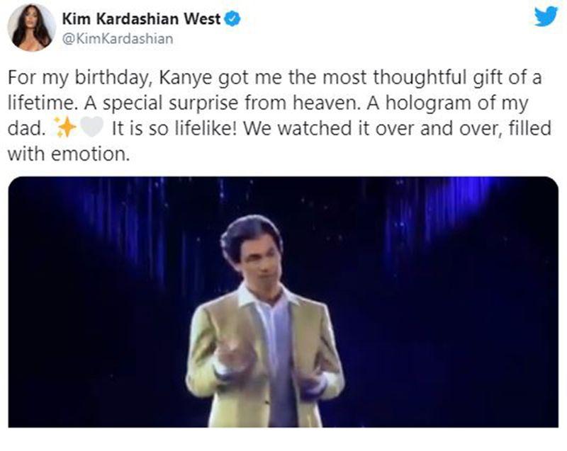 Kim Kardashian tweet