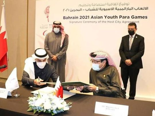 Preparations for the Bahrain 2021 Asian Youth Para Games took a big step forward when a delegation from the Asian Paralympic Committee (APC) visited Manama, Bahrain.